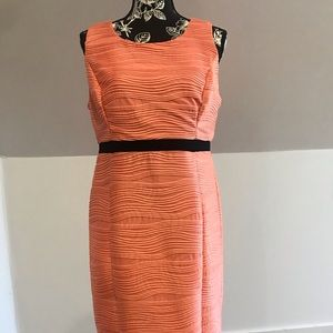 Dress peach color